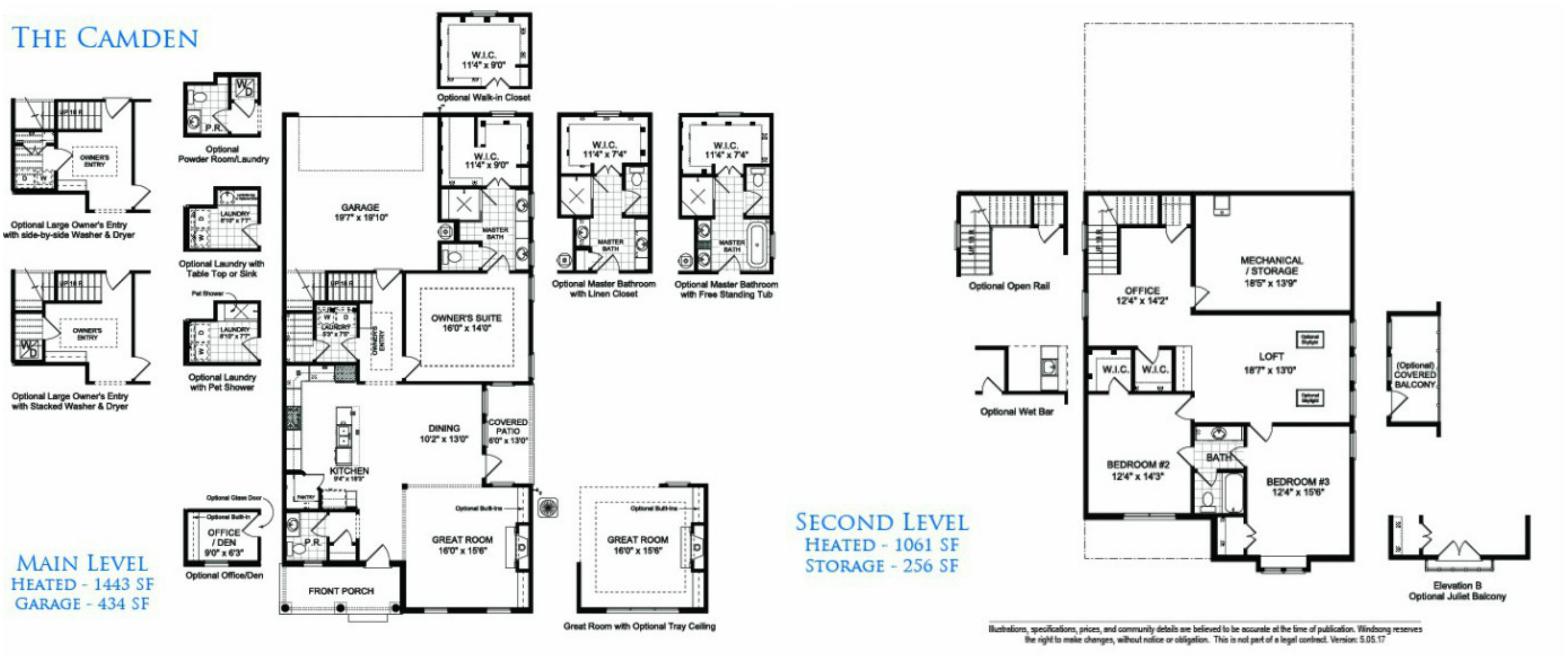 The Camden, One of Linton & Main's New Floor Plans