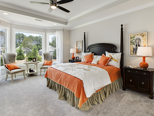 The Carson Owner's Bedroom at Serenade>