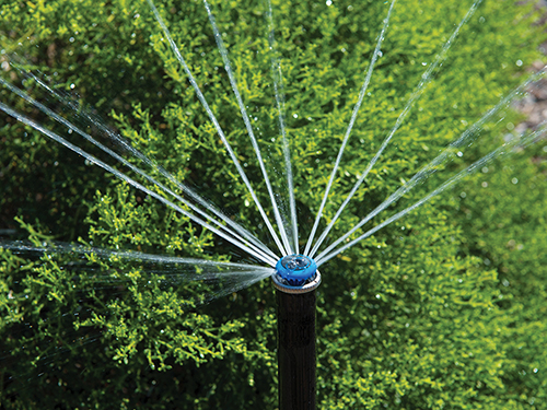 Smart irrigation by Hunter sprinklers a part of conservation by Windsong>