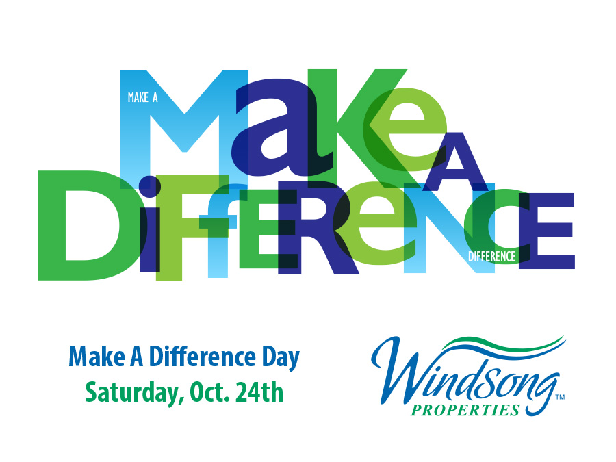 Make a Difference Day, October 24th, 2020