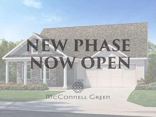 New Phase Now Open at McConnell Green