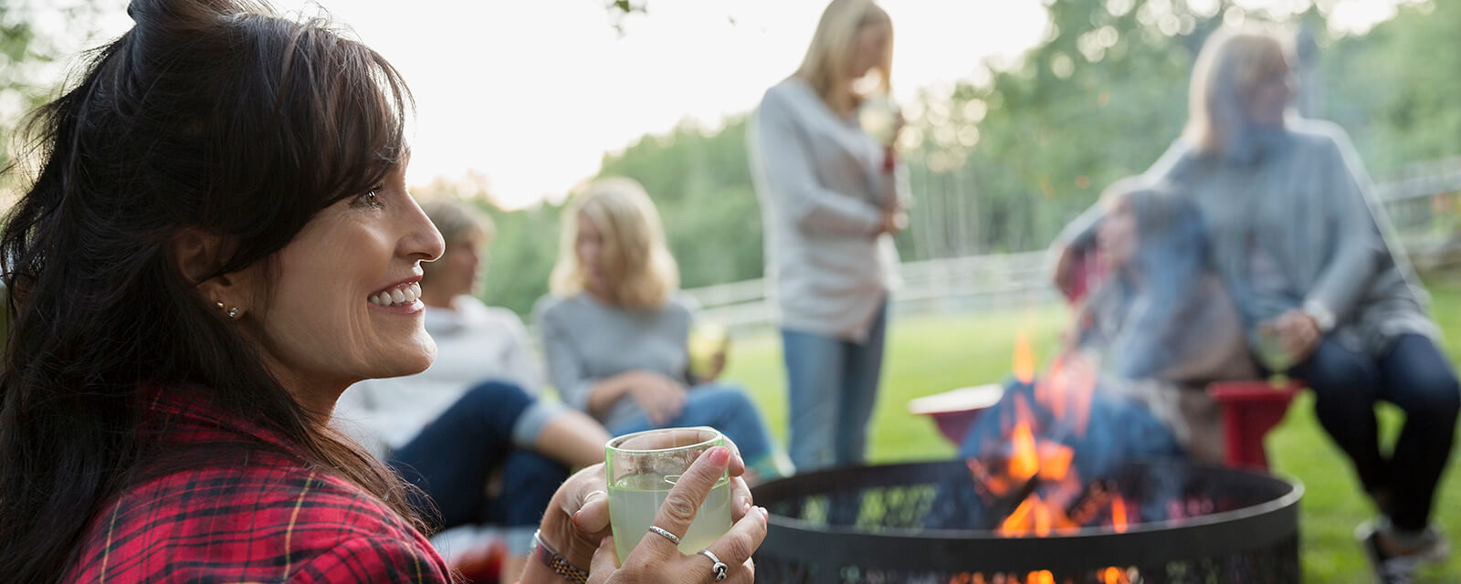 Our active adult 55+ communities throughout Georgia provide the ultimate atmosphere for gathering with neighbors to relax, enjoy some wine or even a barbeque.