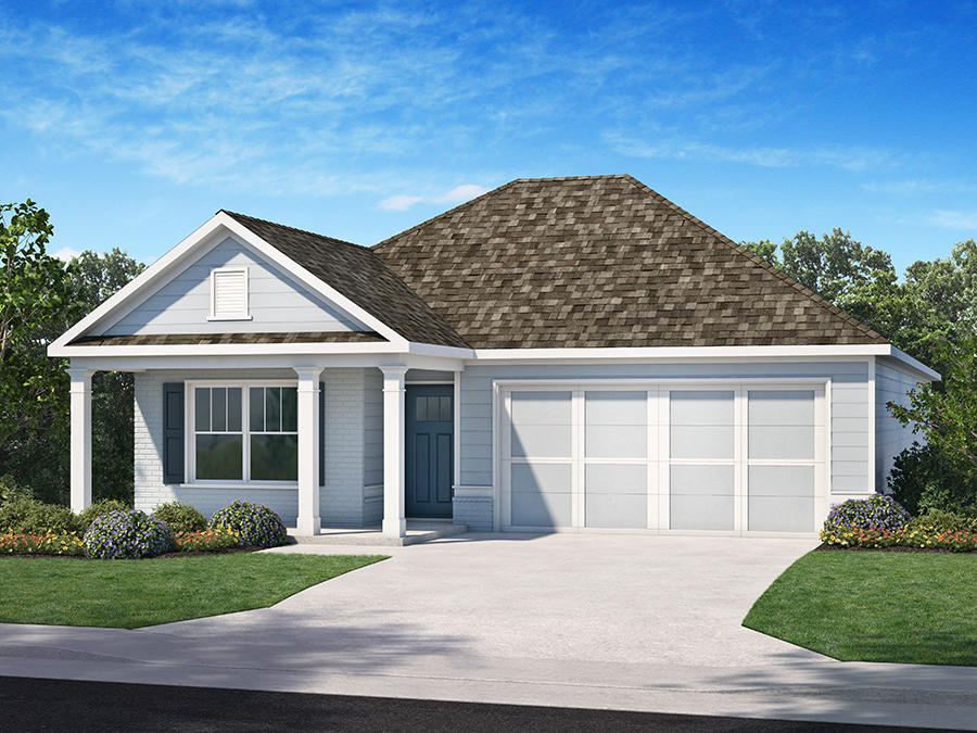 The Bailey homeplan at Westbrook, a new 55+ community in Acworth