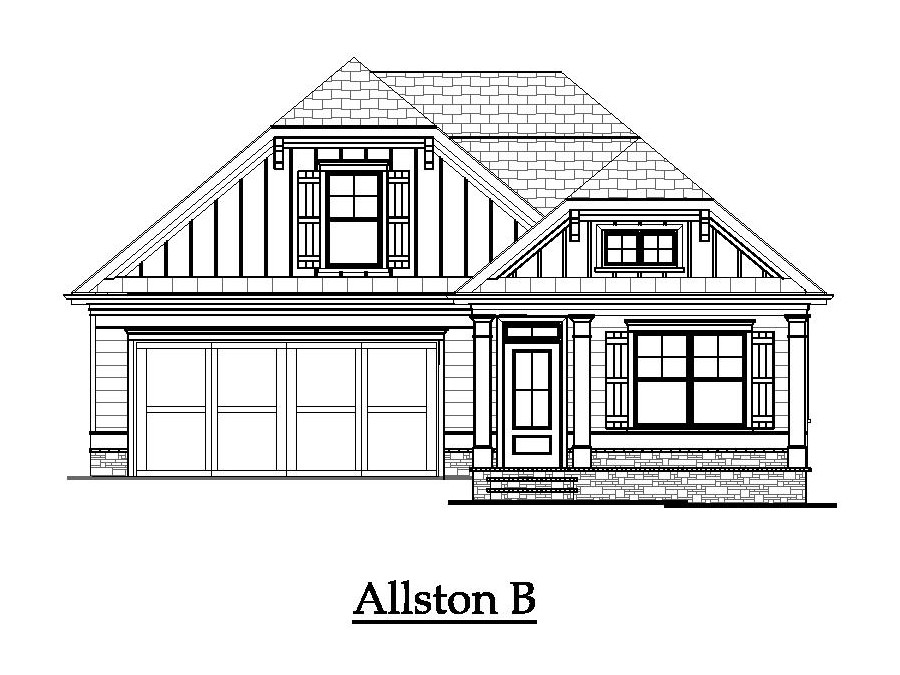 The Allston - Elevation 1