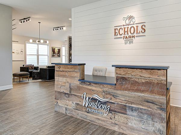 Welcome Center Now Open at Echols Farm